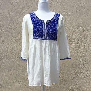 Zara Woman Boho Tunic
